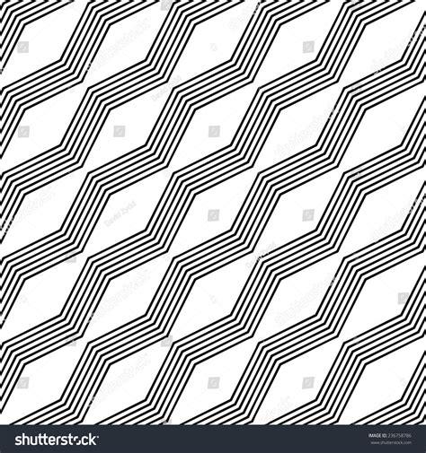 seamless zigzag pattern monochrome seamless zigzag line pattern stock vector