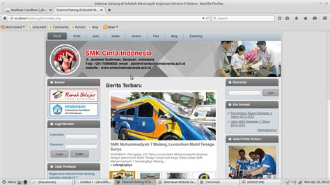 membuat website sekolah membuat website sekolah menggunakan cms balitbang pada