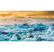 Wallpaper Ice Floes Iceland J&246kuls&225rl&243n Glacier Lagoon Lake