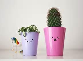 Cute Plants Cute Diy Flower Pot Kao Ani Com