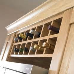 building a wine rack in a kitchen cabinet plans free