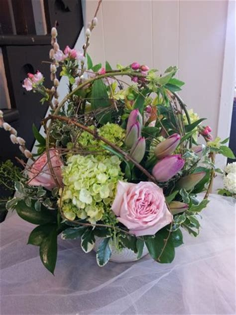 coffee table flower arrangements fresh flower arrangement this stylized all sided table