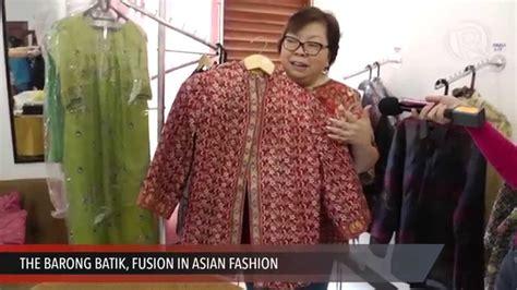 Batik Modern Batwing Barong Sarimbit Batik the barong batik fusion in asian fashion