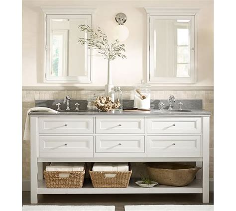 pottery barn sink console classic double sink console white pottery barn