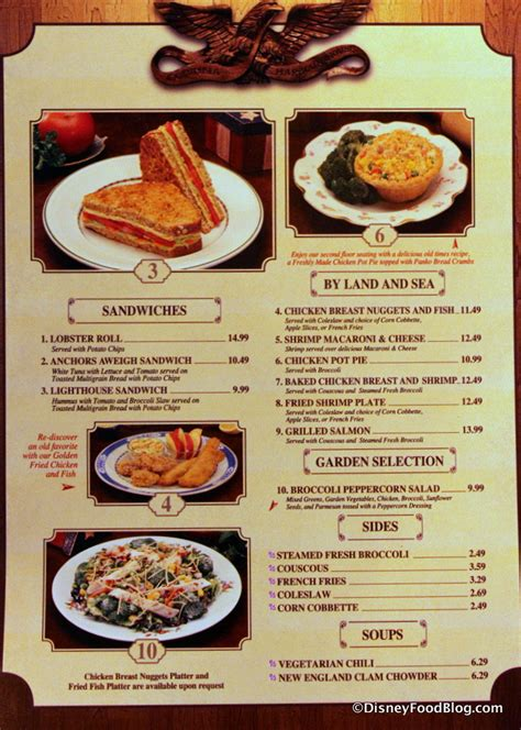 columbia harbor house menu news and review columbia harbour house shrimp fest the disney food blog