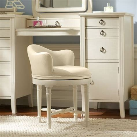 Vanity Seating by Pottery Barn Swivel Vanity Stool Vanity