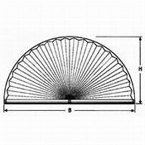 gardinenstange rundbogenfenster plissee sonderformen schr 228 ge u trapezf 246 rmige faltstores