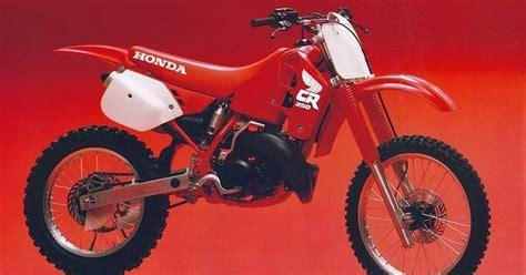 1988 honda cr250r daily moto 1988 honda cr250r