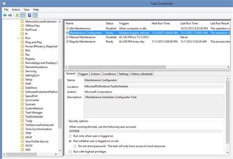 windows 7 task scheduler doesn t list my custom task s super user sleep windows 8 waking issues quot maintenance