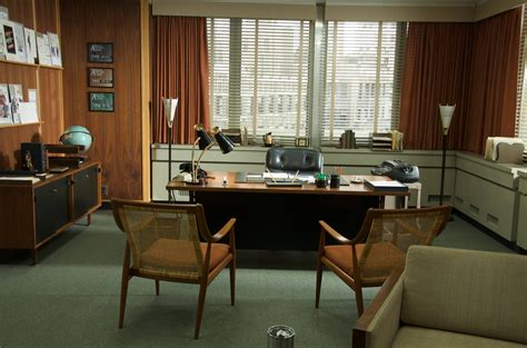 Mad Men Office | uship providing free shipping of vintage furniture and