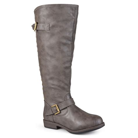 wide calf knee high boots journee collection s wide and wide calf