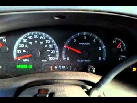 2004 ford expedition service engine soon light f150 tach and speedo issue