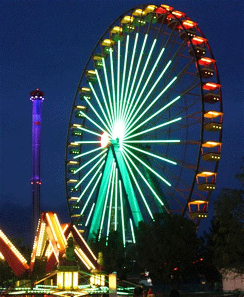 ferris wheel neon gif find & share on giphy