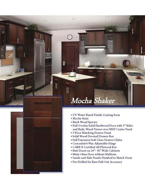 mocha shaker kitchen cabinets mocha shaker viviano inc