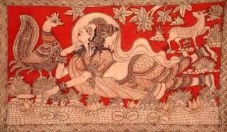 kalamkari the ancient indian art of organic fabric painting