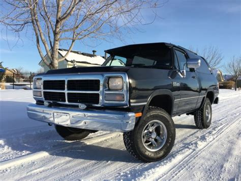 auto air conditioning service 1993 dodge ramcharger interior lighting 1993 dodge ramcharger le 4x4 100 rust free low miles must see