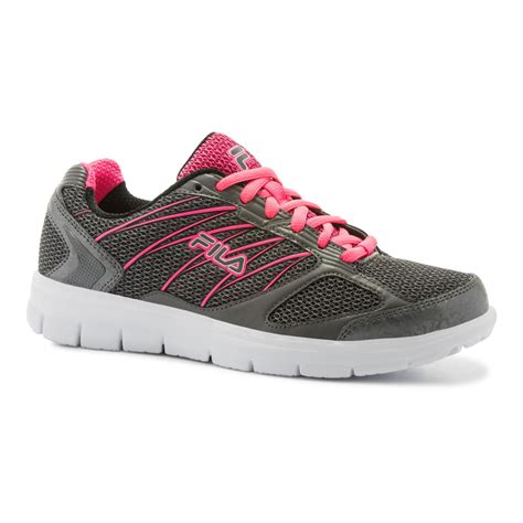 sears womens athletic shoes fila s capacity athletic shoe gray pink