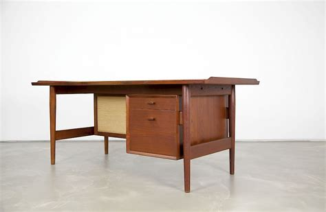 teak desk by arne vodder adore modern