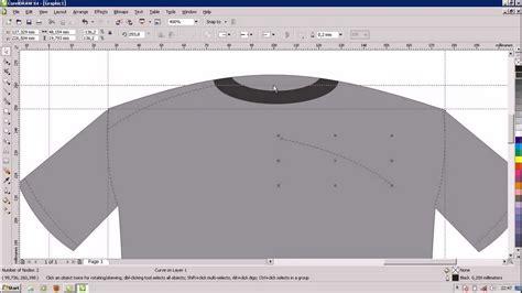 tutorial desain baju corel draw tutorial desain baju corel draw x4 part1 youtube