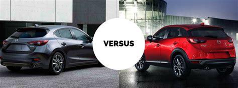 difference in mazda 3 models differences between 2017 mazda3 hatchback vs 2017 mazda cx 3