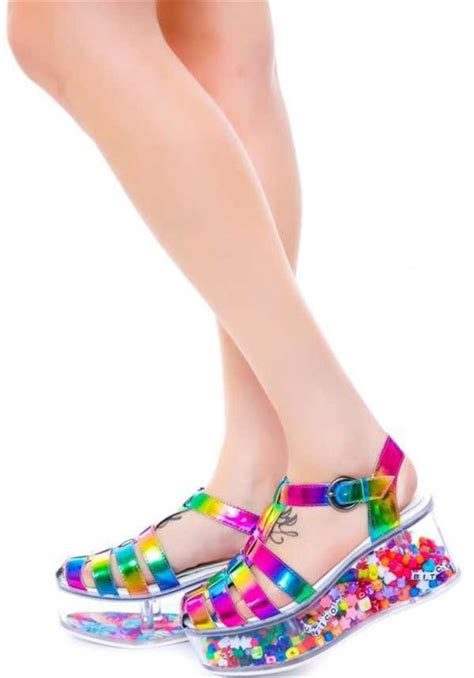 Extremely Girly Ds Mod by Hippie Platform Shoes Hippie Sandals