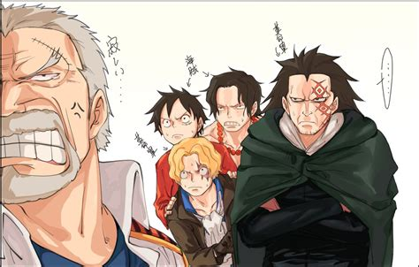 libro whos hiding one piece luffy ace hiding behind sabo whos hiding behind dragon to confront escape garp