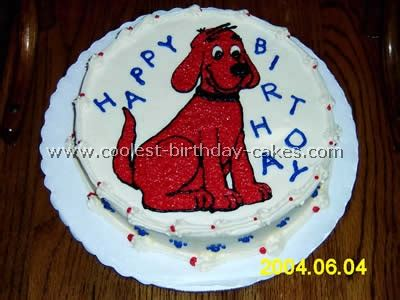 themes in the film red dog coolest homemade clifford the big red dog cakes
