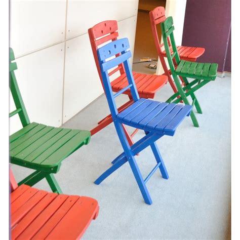 sedie pieghevoli colorate sedie colorate gb illuminotecnica s r l
