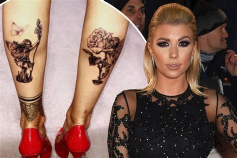 tattoo of us olivia buckland love island s olivia buckland unveils huge fairy tattoos