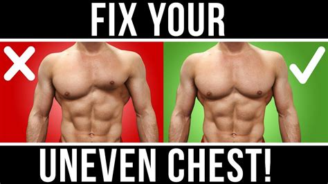 8 Products To Fix Your Figure by 1 Easy Tip To Fix Your Uneven Chest Get Results Fast