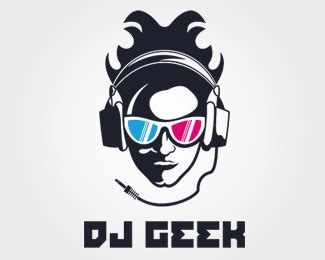 design a dj logo dj geek designed by ilindesigns brandcrowd