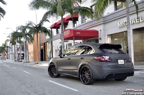porsche suv blacked out murdered out porsche cayenne turbo cars for sale