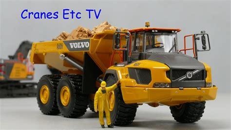 wsi volvo ah articulated hauler  cranes  tv youtube
