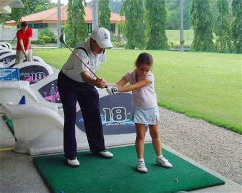 swing asia children golf
