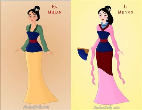 Plain Miulan 2 mulan and meyrin by kendrakickz0220 on deviantart