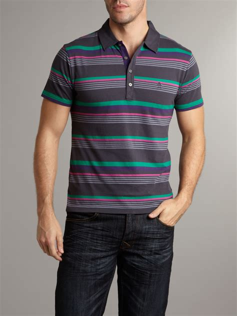 Kemeja Original Quiksilver Stripe 04 original penguin classic stripe polo in blue for lyst