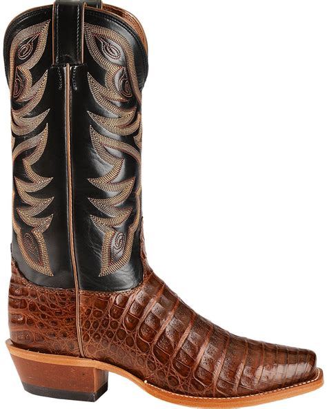 narrow boots for nocona caiman cowboy boots narrow square toe country