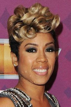 kiesha cole s hort fingerwave curly hairstyles on pinterest pin curl finger wave short cut mowhawk black women yahoo