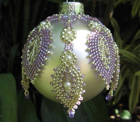 bead ornaments best 25 beaded ornament covers ideas on