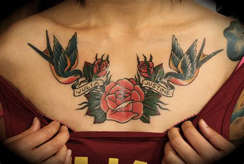 rose tattoo on breast 51 excellent tattoos designs with meanings