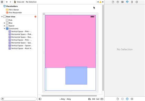 auto layout height programmatically ios auto layout centering view in remaining space