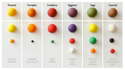 fondant colors fondant color mixing guide autumn eat cake be merry