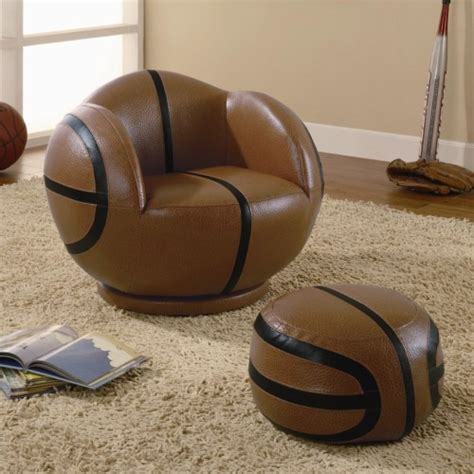 children s chair and ottoman coaster sports chairs small basketball chair and