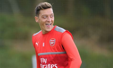 ozil hair arsenal mesut ozil told new manchester city signing leroy