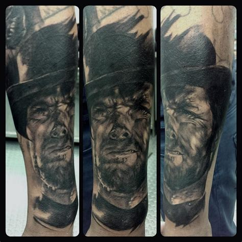 clint eastwood tattoo clint eastwood by michael hsieh tattoos