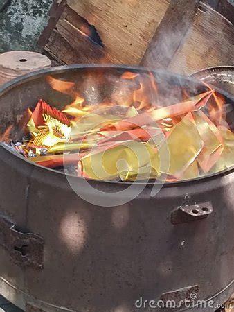 burning money for new year stock photo image 50375621