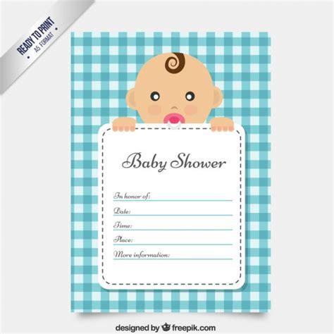 baby shower d baby shower carte d invitation mignon t 233 l 233 charger des
