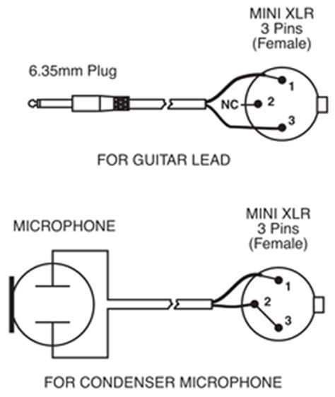 xlr to mini wiring diagram 28 images converting 4 pin