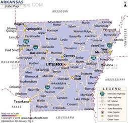 Arkansas State Map by Map Of Arkansas Map Holiday Travel Holidaymapq Com