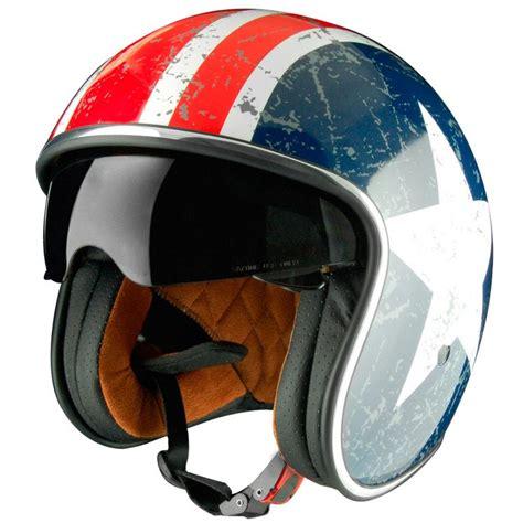 Motorradhelme Usa by Casque Origine Sprint Rebel Jet Moto D 233 Co 233 Toile Usa